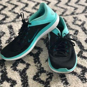 Nike Fitsole - Black & Teal